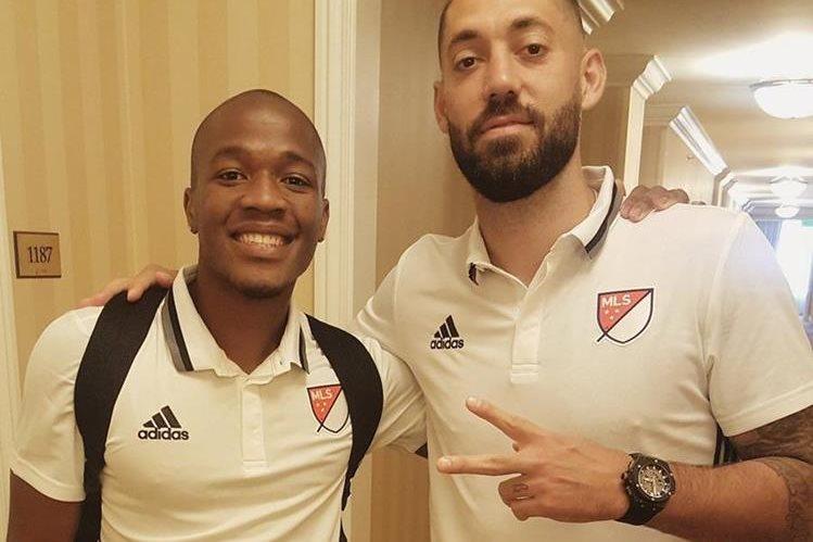 Dempsey (derecha) se perderá los juegos contra Trinidad y Tobago y San Vicente. (Foto Prensa Libre: Tomada de Internet)