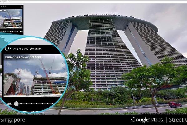 FUNCIÓN DESARROLLADA por el gigante del internet permite que el usuario seleccione una fotografía específica, para luego ver la evolución física de edificios, calles y avenidas, entre otros ambientes exteriores.
