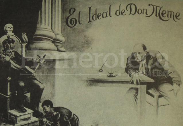 Viñetas que circulaban clandestinamente en contra de Estrada Cabrera y ayudaban a alimentar el rechazo en la población. (Foto: Hemeroteca PL)