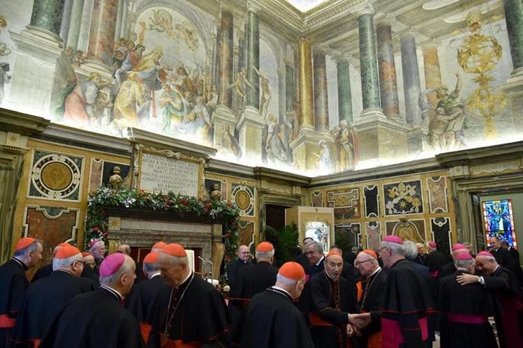 La justicia vaticana concedió la detención domiciliaria al cura español Lucio Vallejo Balda. (Foto Prensa Libre: EFE).