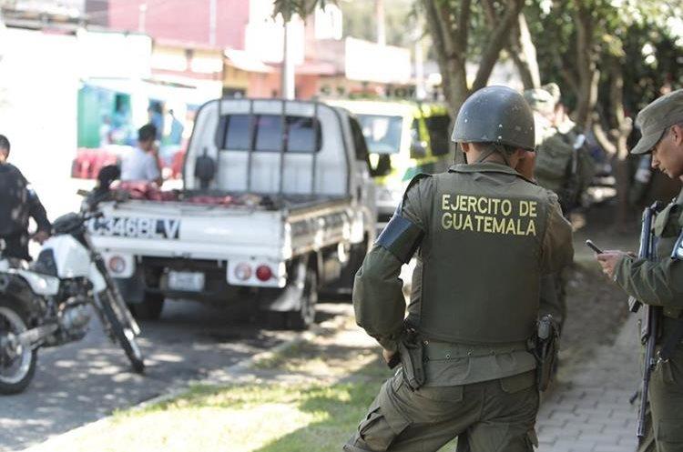 Ejército saldrá de las funciones de seguridad ciudadana junto con la PNC.