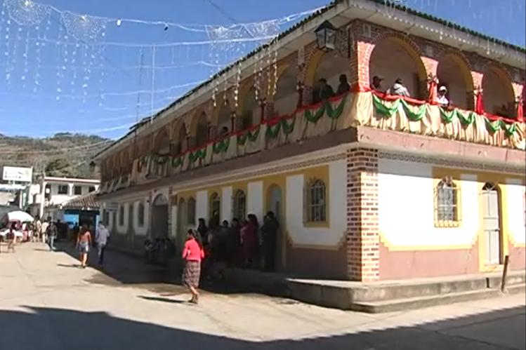 Vista de Uspantán, Quiché, donde la PDH verificó la denuncia. (Foto Prensa Libre: Héctor Cordero)