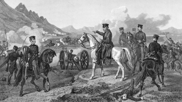 En Buena Vista, los elementos vencieron al ejército estadounidense. (HULTON ARCHIVE)