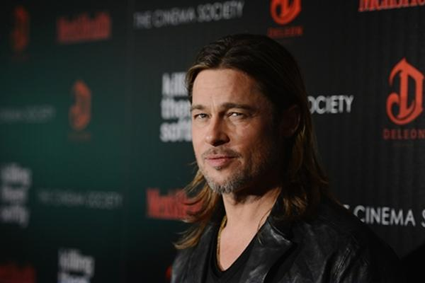 <p>El actor Brad Pitt protagoniza la película<em> Killing them softly</em>. Fotografía: AFP.</p><p><br></p>