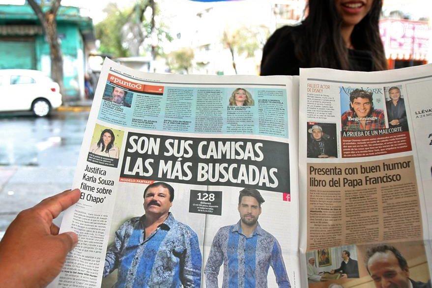 Todo lo que el Chapo Guzmán utiliza se vuelve tendencia comercial. (Foto Prensa Libre: EFE).