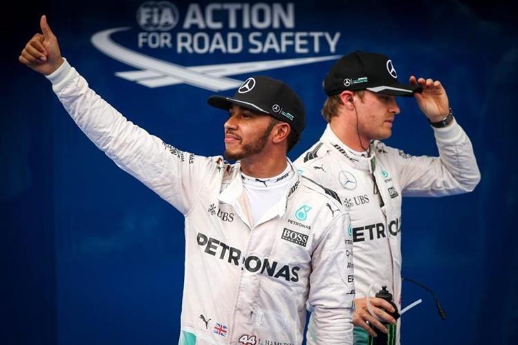 Lewis Hamilton buscará recuperar el liderato del Mundial. (Foto Prensa Libre: EFE)