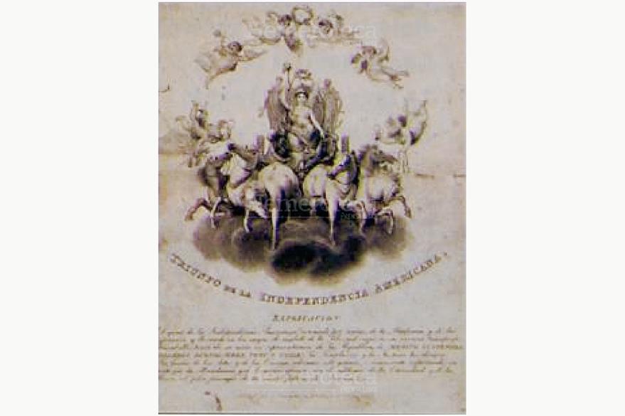 Alegoría de la Independencia, Museo Nacional de Historia (Foto: Hemeroteca PL)