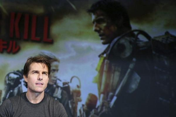 Tom Cruise ofreció una conferencia de prensa para hablar de su nuevo filme. (Foto Prensa Libre: AP)