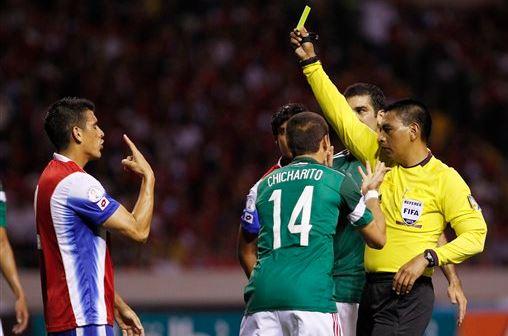 Walter López ha sido designado como árbitro central para el partido entre Estados Unidos y México del próximo 11 de noviembre por la Hexagonal de la Concacaf. (Foto Prensa Libre: Hemeroteca)