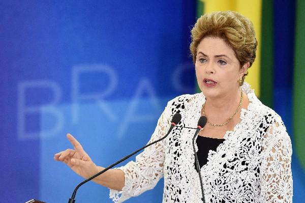 Presidenta de Brasil, Dilma Rousseff.