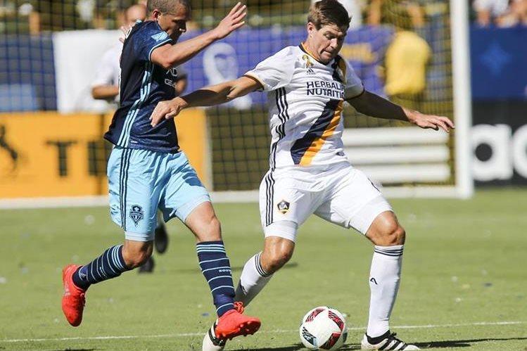 Steven Gerrard es una de las figuras de la MLS y del LA Galaxy. (Foto Prensa Libre: Hemeroteca PL)