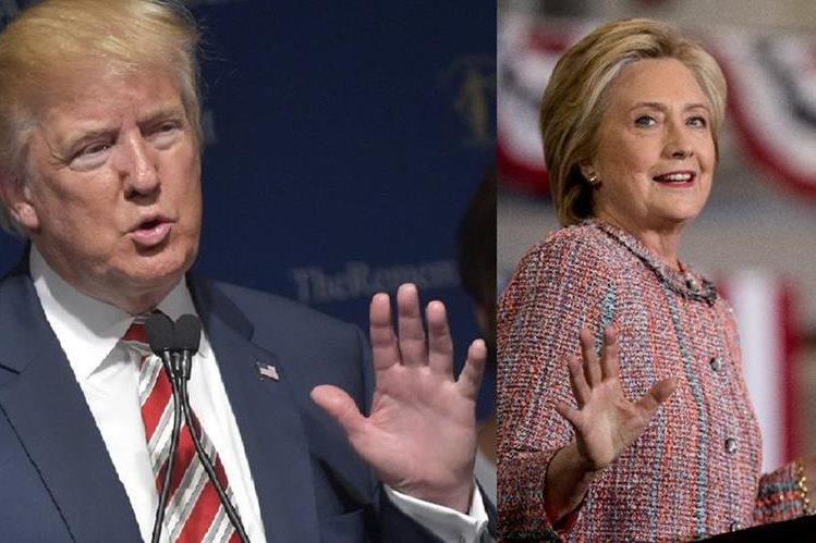 Donald Trump y Hillary Clinton fijan sus posturas sobre los últimos ataques. (AFP).