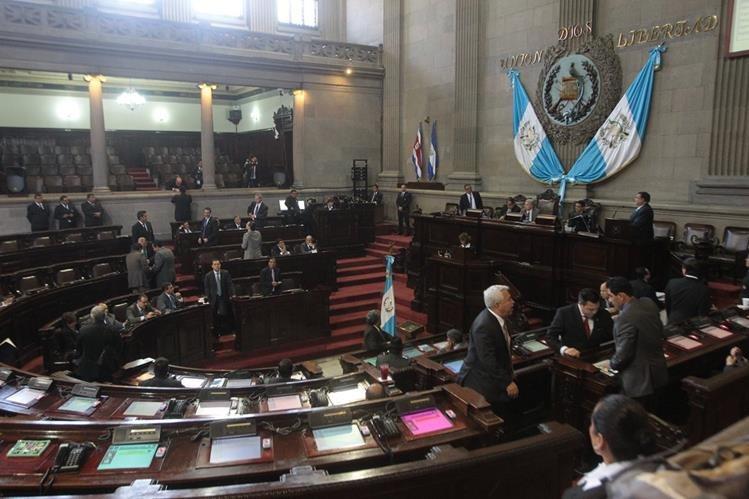 Congreso conocerá este jueves oficialmente la terna donde se elegirá Vicepresidente. (Foto Prensa Libre: Hemeroteca PL)