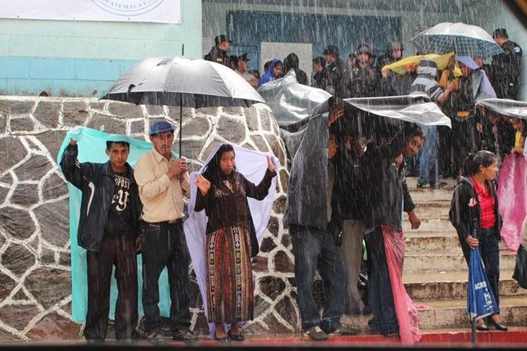 La lluvia se intensificará el fin de semana informó el Insivumeh. (Foto Prensa Libre: Hemeroteca PL)