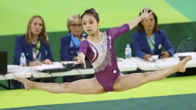 De sólo 17 años, las Olimpiadas de Río 2016 fueron las primeras para Lee Eun-ju. (Reuters)
