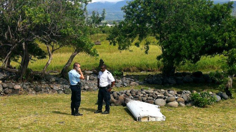 En julio del 2015 se halló el fragmento del avión del MH370 en la isla Reunión.