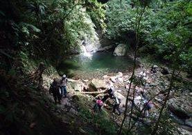 El Cerro Panam en San Juan La Laguna, santuario natural, se encuentra invadido por finqueros. (Foto Prensa Libre: Ángel Julajuj)