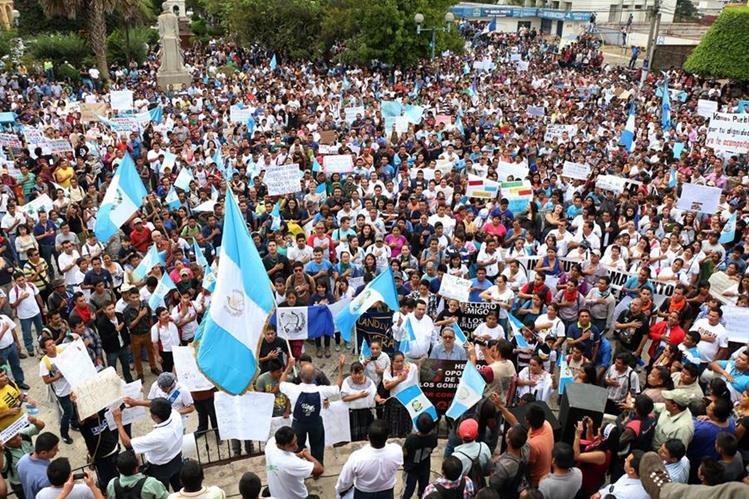 Sectores ven con recelo la convocatoria al díálogo con una entidad afín al Ejecutivo. (Foto Prensa Libre: Hemeroteca PL)
