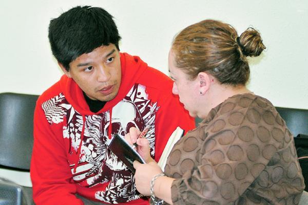 Hugo Valdemar Siau Hu Arrecis  es el principal sospechoso de haber lanzado ácido a un niño, en Quetzaltenango. (Foto Prensa Libre: Alejandra Martínez)