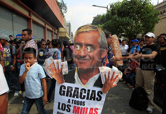 La crítica y mofa a la clase política persiste en la Huelga de Dolores. (Foto: Hemeroteca PL)
