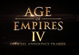 """Microsoft sorprendió con el anuncio de """"Age of Empires IV"""", el título más reciente de la franquicia (Foto Prensa Libre: YouTube)."""