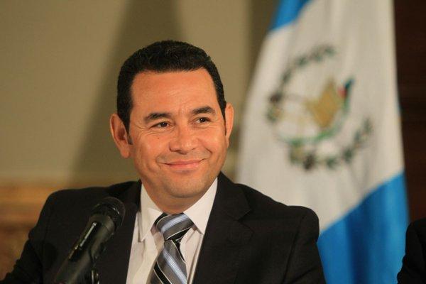 Jimmy Morales cumple 47 años este viernes. (Foto Prensa Libre: Hemeroteca PL)