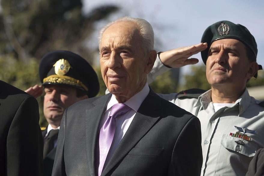 Simón Peres, un ferviente partidario de la paz. (Foto Prensa Libre: EFE).