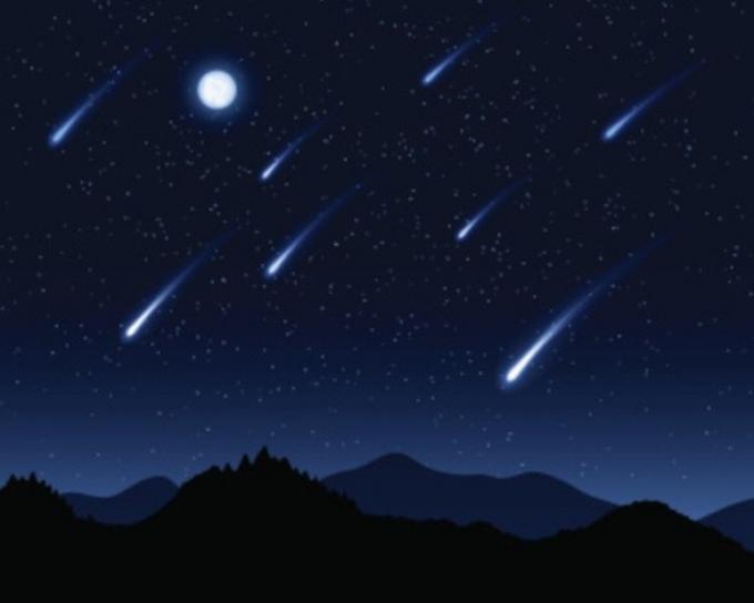 <em>Si el clima es bueno, podría haber una estrella fugaz cada minuto, incluso más. (Foto Prensa Libre: Muyintersante.es).</em>