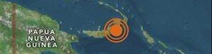 Zona epicentral del sismo.
