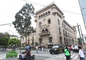Ministerio de Gobernación, en la 6a. avenida y 14 calle de la zona 1. (Foto Prensa Libre: Hemeroteca PL)
