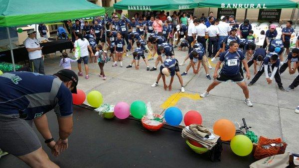 La carrera también se realiza en Petén. (Foto Prensa Libre: OJ)