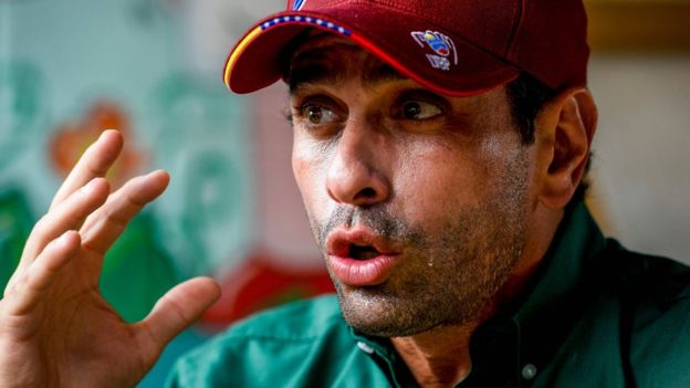 El líder opositor Henrique Capriles apuesta por un referendo revocatorio en el 2016. (AFP).