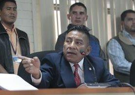 Juez Pablo Xitumul dijo que se ordenó traslado en base a las recomendaciones del Inacif. (Foto Prensa Libre: Carlos Hernández)