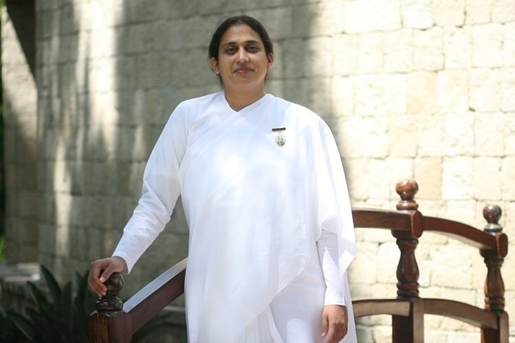 Gopi Patel es conferencista internacional de la Universidad Espiritual Brahma Kumaris, y estuvo de visita en el país. (Foto Prensa Libre, Brenda Martínez)