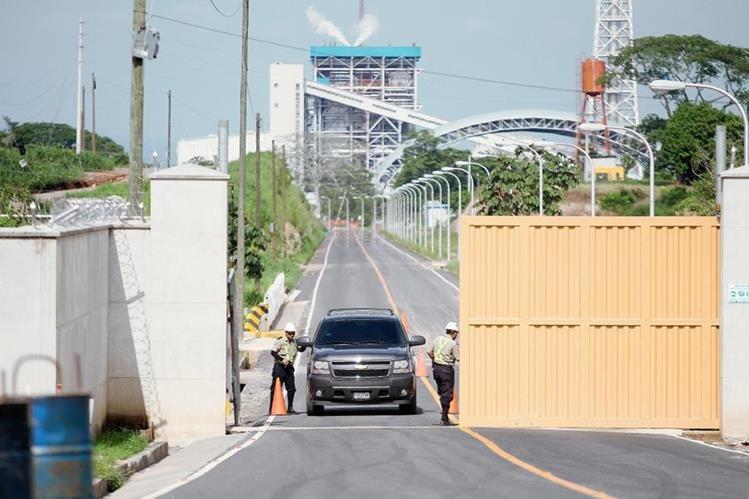 Empresa generadora de energía eléctrica Jaguar Energy, donde se reportan las diligencias del MP. (Foto Prensa Libre: Hemeroteca PL)