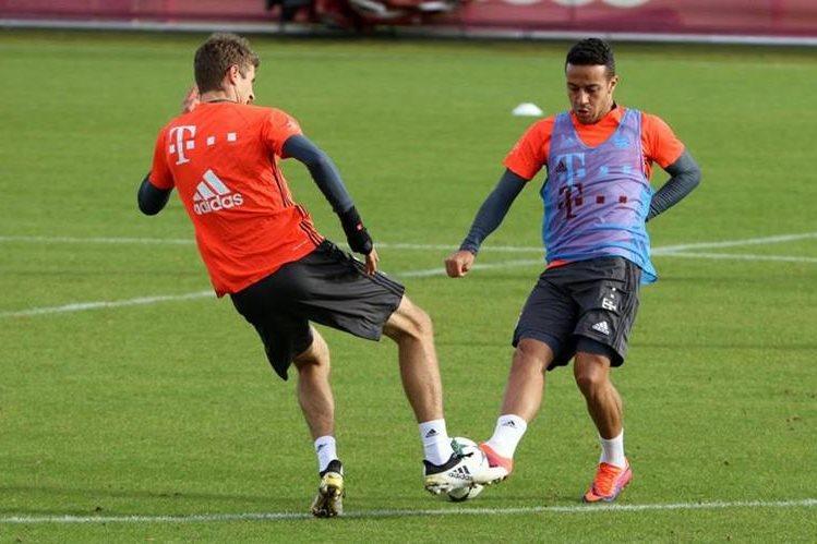 El Bayern Munich viajó este martes a Rusia para enfrentar al Rostov. (Foto Prensa Libre: )