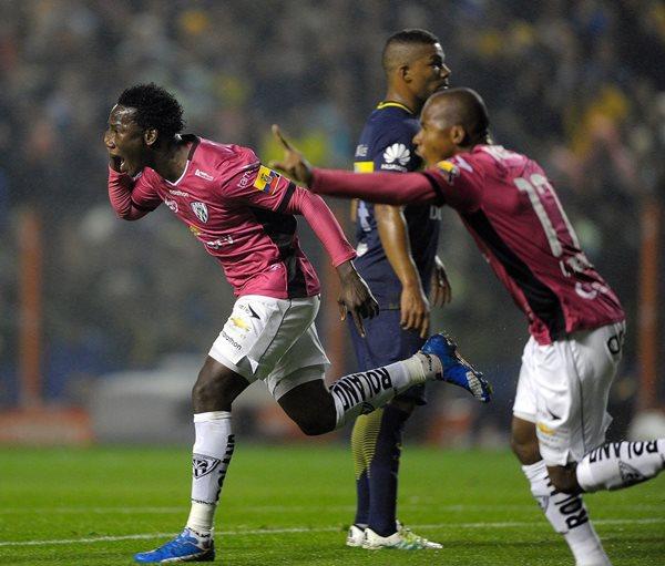 Independiente del Valle avanzó a la final de la Copa Libertadores, después de dejar en el camino a Boca Juniors (Foto Prensa Libre: Hemeroteca PL)