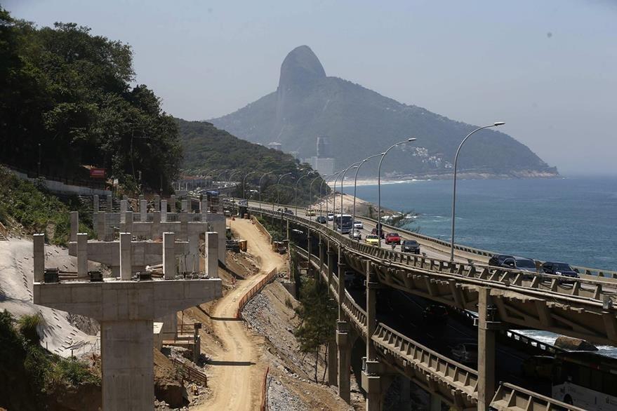 Río de Janeiro sufre uno de los calores más agobiantes del siglo. Foto Prensa Libre: EFE