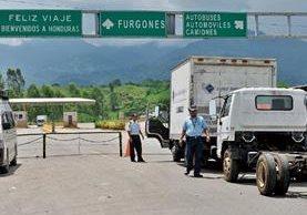 Guatemala y Honduras pondrán en marcha la unión aduanera el próximo lunes. (Foto Prensa Libre: Hemeroteca)