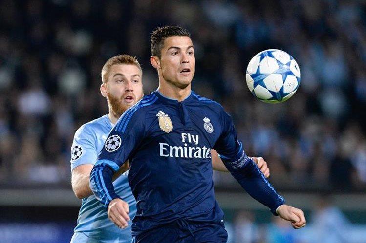 Cristiano Ronaldo anotó el gol del triunfo del Real Madrid. (Foto Prensa Libre: EFE)