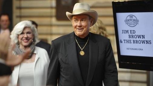 El popular músico de country, Jim Ed Brown. (Foto: Prensa Libre: AP).