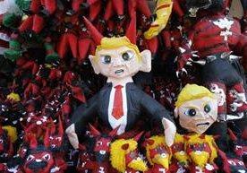 Piñaterías elaboran efigies para el siete de diciembre.