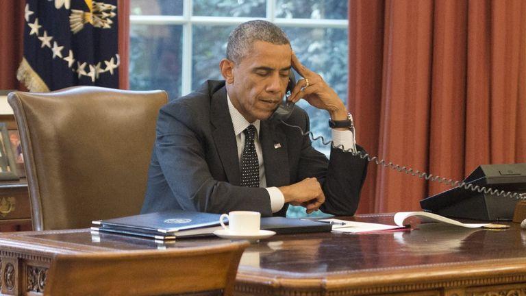 Barack Obama hizo historia al convertirse en el primer presidente negro de Estados Unidos. GETTY IMAGES