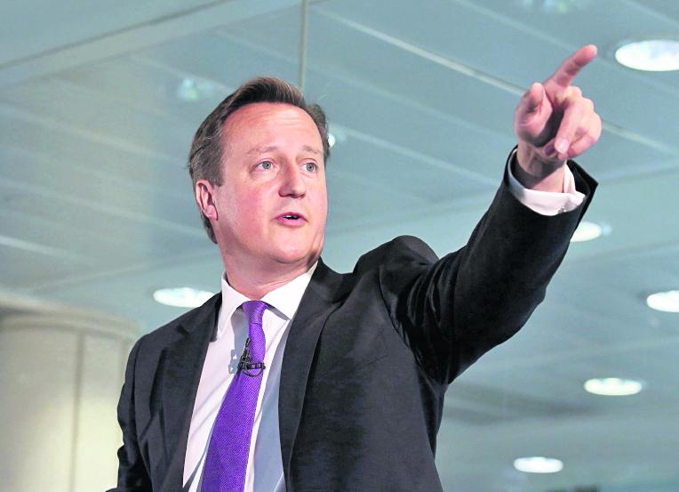 David Cameron, primer ministro de Inglaterra. (Foto: Hemeroteca PL)