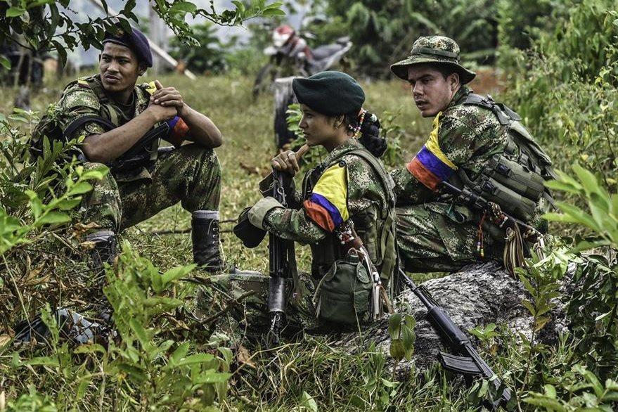 Insurgentes de las Farc esperan proto un acuerdo de paz en Colombia. (AFP)