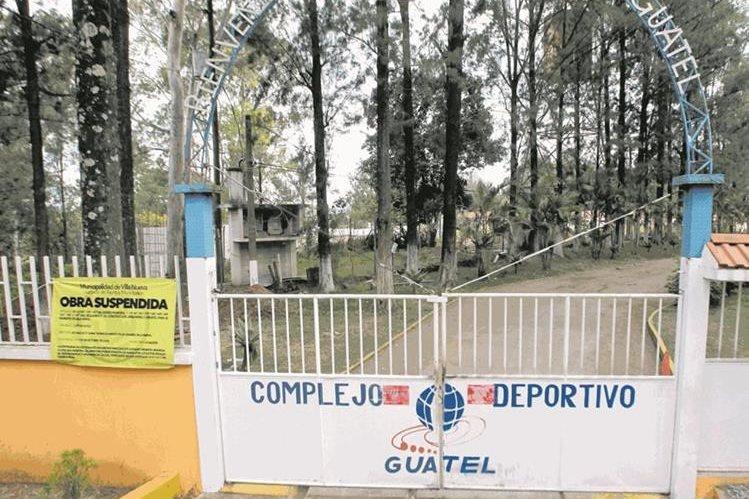 En el kilómetro 22 de la ruta al Pacífico estaría ubicado el centro de rehabilitación. (Foto Prensa Libre: Álvaro Interiano)