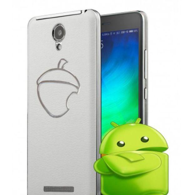 Su logo es una manzana mordisqueada al estilo de la manzana de Apple. (ZETTA SMARTPHONES)