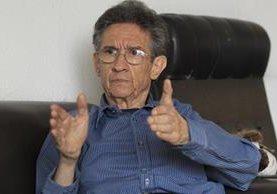 Héctor Rosada, investigador social y analista político. (Foto Prensa Libre: Hemeroteca PL)