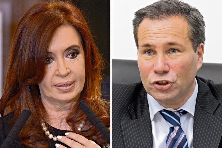 LA PRESIDENTA de Argentina, Cristina Fernández   y el fiscal Alberto Nisman.