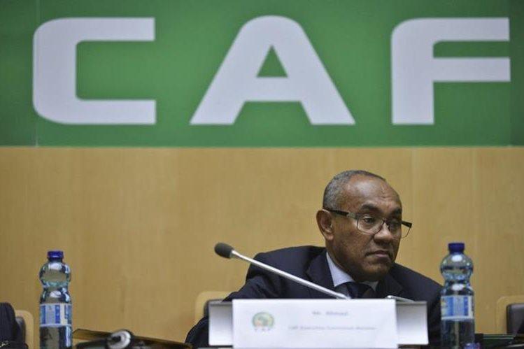 Ahmad Ahmad se convirtió en el nuevo presidente de la Confederación Africana de Futbol. (Foto Prensa Libre: AP).